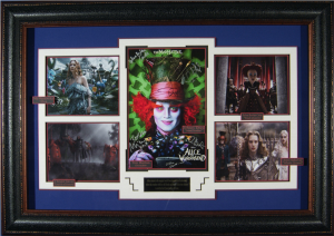 Alice in Wonderland Cast Signed Masterpiece Collage