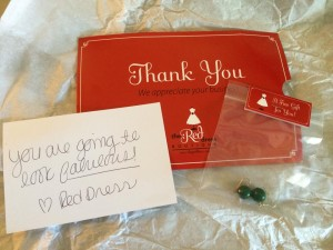 The Power Of Thank You Red Dress Boutique