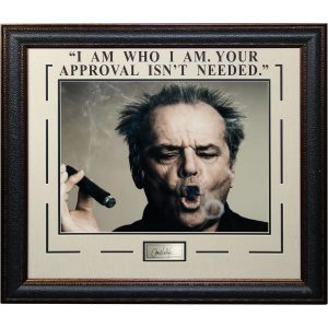 "Jack Nicholson ""Approval Message"" Masterpiece Collage"
